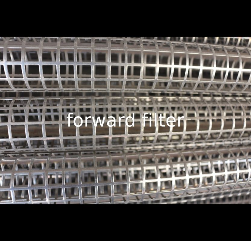 High Strength Perforated Stainless Steel Pipe Durable With Custom Length