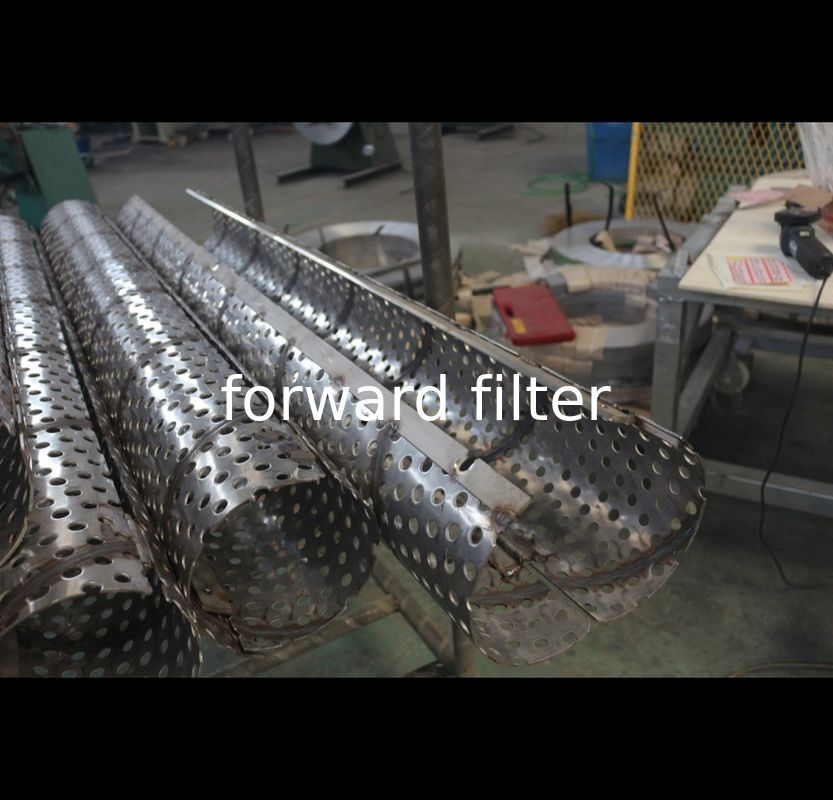 Stainless Steel Perforated Round Tubing Piping With Holes Welded Seamless