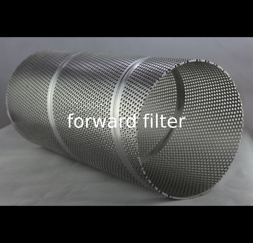 High Pressure Stainless Steel Mesh Tube , Light Decoration Perforated Filter Tube
