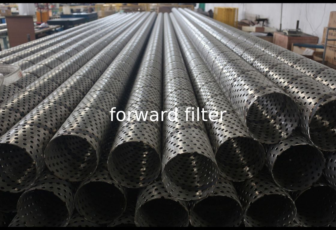 Durable Perforated Filter Tube Cylinder Petroleum Refining Filtration Core